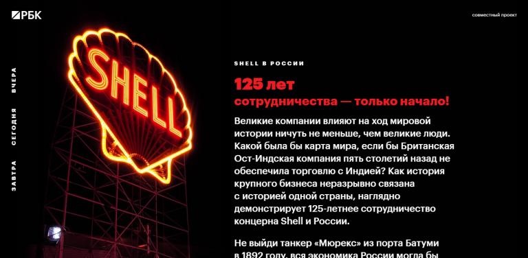 Shell. 125 лет.
